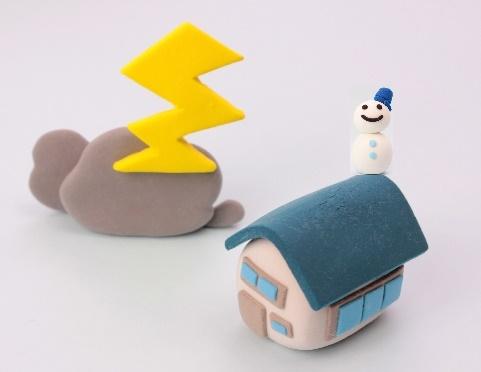 火災保険は雷や大雪による災害でもOK!