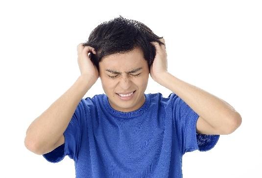 頭が割れるように痛い!
