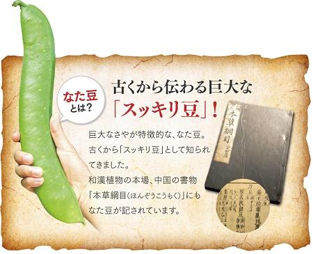 薩摩のなた豆